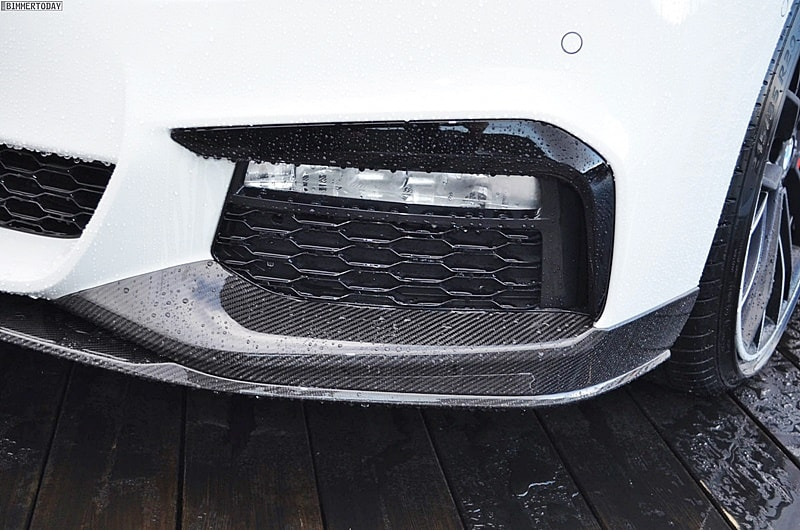 BMW G30- Performance carbon front splitter [M TECH] 03